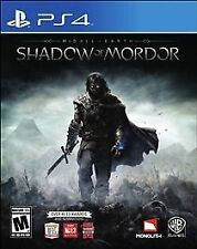 Middle-earth: Shadow of Mordor PS4 Game Sony PlayStation 4