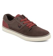 DC SHOES SKATE TONIK 302905 DKX DK CHOCOLATE - OXBLOOD MENS UK SIZES 7 - 12