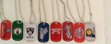 NBA DOGTAG NECKLACE LICENSED- AUTHENTIC