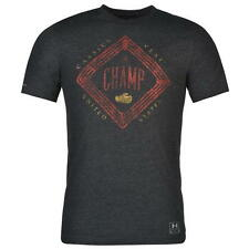Under Armour Cassius Clay Charged Cotton Champion Triblend T Shirt Men's Ali New