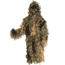 Chameleon Ghillie Suit Long Jacket in Desert by Bushrag M/L L/2XL