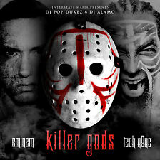 EMINEM & TECH N9NE Killer God's Mixtape CD New FAST SHIPPING
