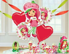 STRAWBERRY SHORTCAKE BIRTHDAY PARTY BALLOONS BOUQUET DECORATIONS SUPPLIES