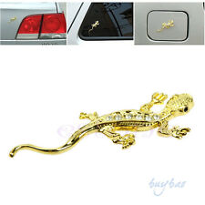 Car Gold/Silver 3D Gecko Emblem Badge Car truck auto motor sticker decals symbol