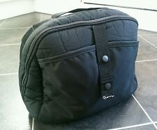 Quinny Buzz 3 or 4 black box storage clip on bag/ nappy changing bag