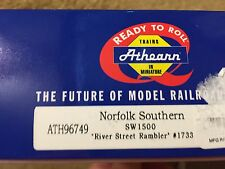 Athearn Ready to Run Norfolk and Southern River Street Rambler SW1500
