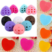 Silicone Makeup Brush Cleaner Washing Scrubber Board Cosmetic Cleaning Glove SP