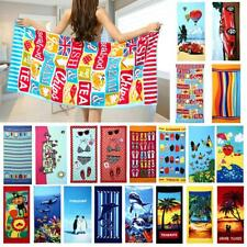 Colorful Print Large Drying Bath Beach Towel Washcloth Swimwear Shower 70x150cm