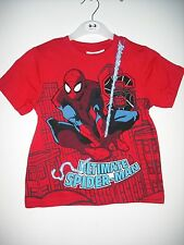 BNWT Marvel - Spiderman T Shirt. Boys. Age 2-5 years