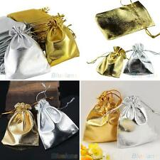 25x Drawstring Organza Voile Favour Wedding Candy Gift Pouch Bags 9X12cm Astute