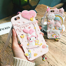 Fashion 3D My Melody Little Twin Stars Cartoon Dust Plug for iPhone 6 7 7plus