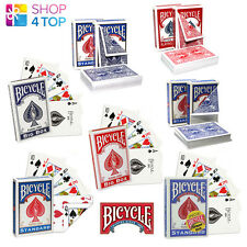BICYCLE MAGIC TRICKS PLAYING CARDS DECK NO FACE BLANK DOUBLE STRIPPER SHORT NEW