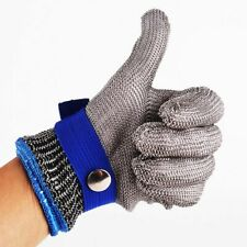 Size-L-Glove-Safety-Cut-Proof-Stab-Resistant-Stainless-Steel-Metal-Mesh-Butcher