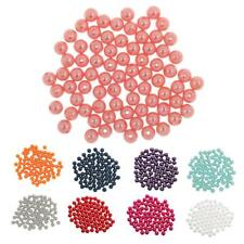 80pcs 10mm DIY Art Faux Pearl Round Beads Imitation Pearl