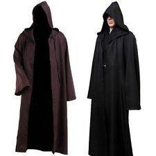 Star Wars Jedi Costume Adult Jedi Robe Hoodie Cloak Men Halloween Cosplay Darth