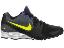 NEW MENS NIKE SHOX AVENUE RUNNING SHOES TRAINERS BLACK / ELECTROLIME / PARAMOUNT