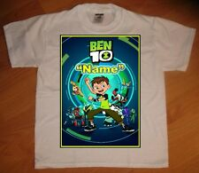 New Ben 10 Custom Personalized Birthday Party Favor Gift T-Shirt - NEW