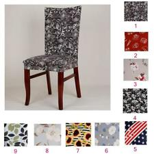 Stretch Dining Room Wedding Banquet Chair Cover Home Decorative Seat Slipcover