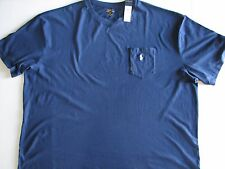 NWT POLO Ralph Lauren Navy Blue Pocket T Shirt Big Tall 2XB 3XB