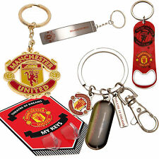 Manchester United FootBall Club KeyChain Key Holder Wall Chain Charm Keyring Tag