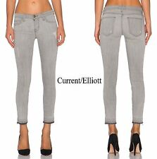 NWT$208 CURRENT/ELLIOT ANKLE SKINNY CHEVILLE DILLON W/RELEASED HEM JEAN.26,27,28