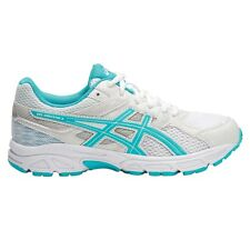 Asics Gel-Contend-3 GIRL'S RUNNING SHOES, WHITE/BLUE*JP Brand- Size US 1, 2 Or 4