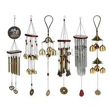 Metal Bells Lucky Wind Chime Charm Hanging Church Feng Shui Ornament