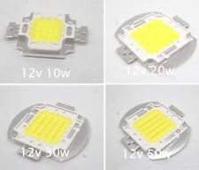DC12V 10W 20W 30W 50W white/warm white High Power LED chip White bulb Flood