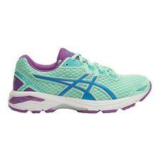 Asics GT 1000-5 GIRL'S RUNNING SHOES,GREEN/BLUE/PURPLE*JP Brand-Size US 1,3 Or 5