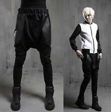 Punk mens casual hip hop trousers new chic stylish tour show stage Harem Pants