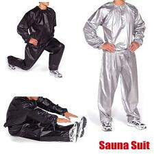 Unisex Gym Workout Exercise Fitness Sauna Sweat Suit Slimmer Weight Loss M-3XL