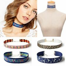 Multicolor Collar Jewelry Ethnic Necklace Bohemian Choker Embroidery