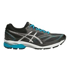 Asics Gel-Pulse-8 MEN'S RUNNING SHOES, BLACK/SILVER/BLUE- Size US 11.5, 12 Or 13