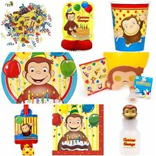 Disney Curious George Party Supplies - Multi Listing - Plates Cups Napkins Gifts