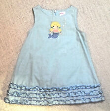 NEW Gymboree girls Mermaid Magic dress blue shift ruffle size 6 9 12 18 months