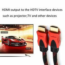 JINCHI 1.5m/3m/5m/10m/15m/20m HDMI Male To HDMI Male HD TV Connection Cable Lot@