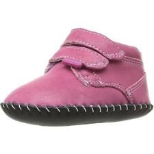 Pediped Originals Lionel Fuchsia Leather Soft Soles