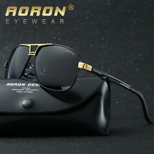 Aoron Polarized Sunglasses Mens Outdoor Sports Driving Mirrored Glasses Eyewear