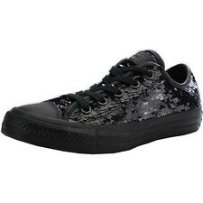 Converse Chuck Taylor All Star Sequin Black Textile Trainers