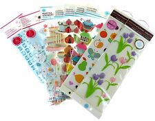 Martha Stewart Various Stickers Birthday Flowers Letters **HUGE DISCOUNTS** N XS