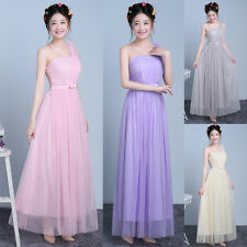 Lady Long Formal Prom Dress Cocktail Party Ball Gown Evening Bridesmaid Dresses