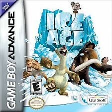 Ice Age GBA Nintendo GameBoy Advance Game - Manny the Mammoth + Sid the Sloth