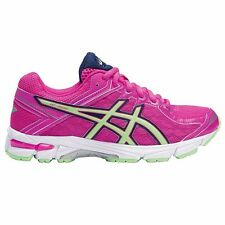 Asics GT-1000-4 GIRL'S RUNNING SHOES, PINK/GREEN/WHITE - Size US 1, 5, 6 Or 7