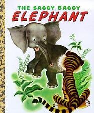 Little Golden Book The Saggy Baggy Elephant by Byron Jackson (BOARD BOOK)  NEW