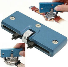 Watch Repair Tool Cover Remover Back Case Opener Screw Wrench Kit New Adjustable