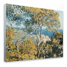 READY TO HANG CANVAS Bordighera Claude Monet Oil Paintings Prints Framed Paints