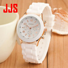 Geneva Casual Watch Women Dress Watch 2017 Quartz Military men Silicone watches
