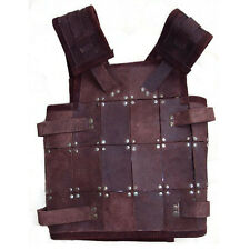 Leather Fighter Armour - Black / Brown - LARP
