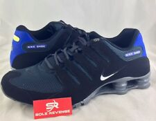 New Nike Shox NZ Running Shoes Black Blue Gray 833579-007 SP EU PA Current s1