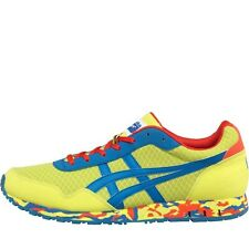 Onitsuka Tiger Mens Curreo Trainers Lime/Strong Blue 7.5-8.5 UK